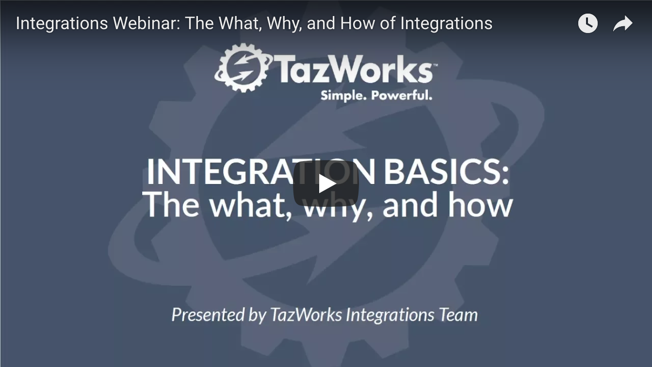 Integration Basics Webinar: The What, Why, and How of Integrations