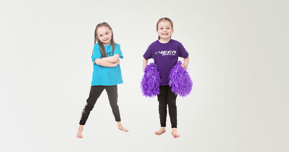 Mini movers dance class with mini cheer lessons for children