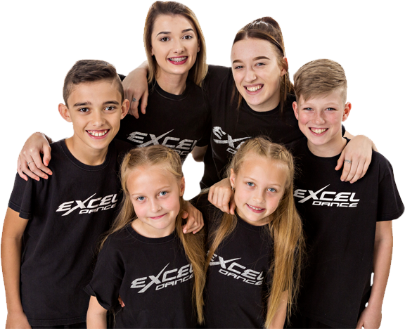 Excel group of dancers