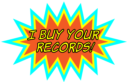 Tom from Vinyl Records Scotland - buys your record and CD collections