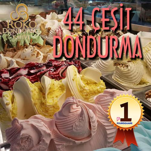 44 Çeşit Dondurma
