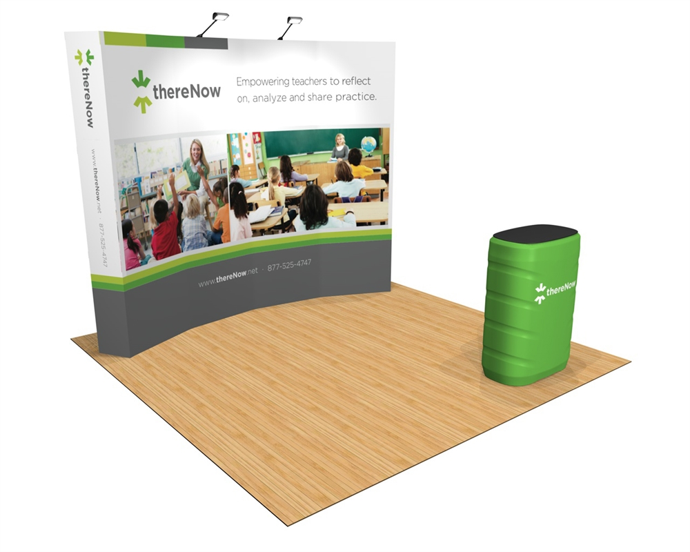 OneFabric 10ft Curved Display Kit