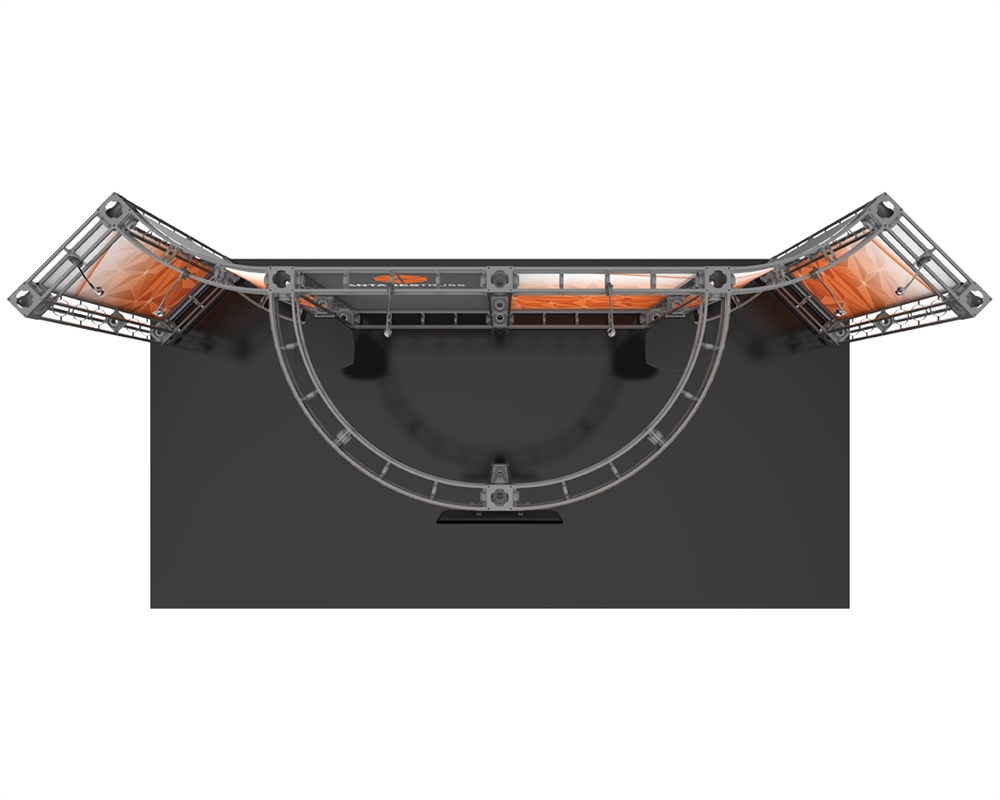 Antares 10 x 20 Orbital Truss Display