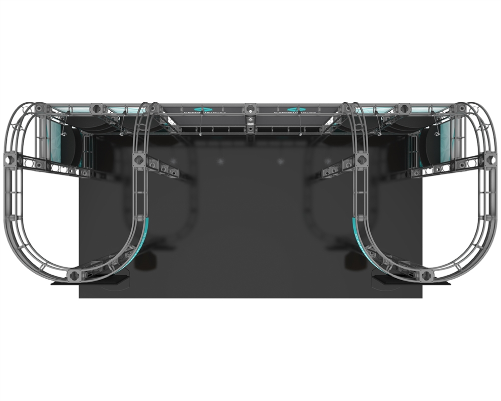 Cepheus 10 x 20 Orbital Truss Display