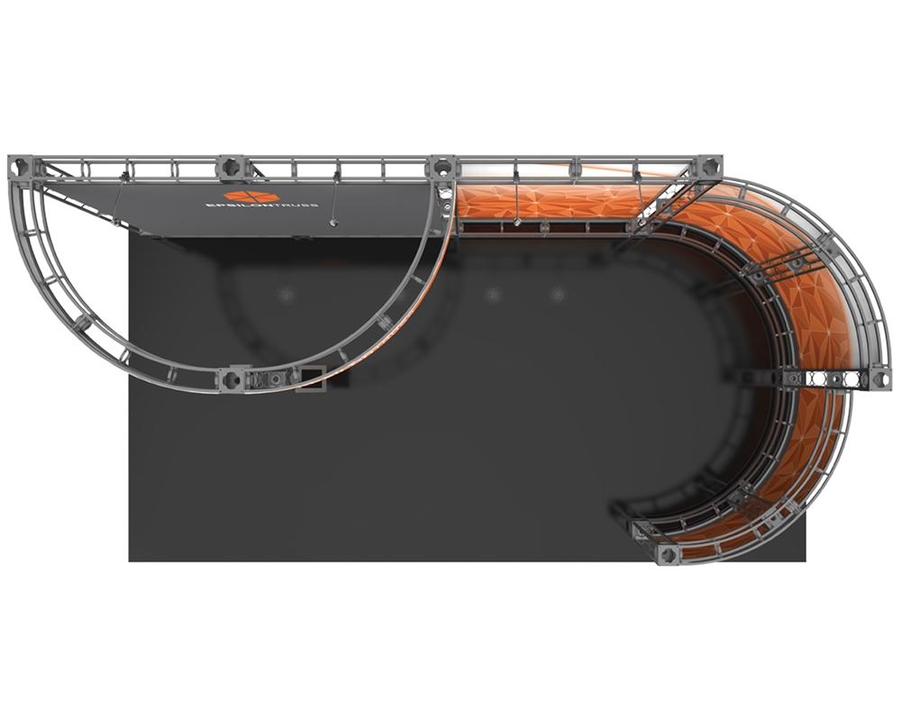 Epsilon 10 x 20 Orbital Truss Display