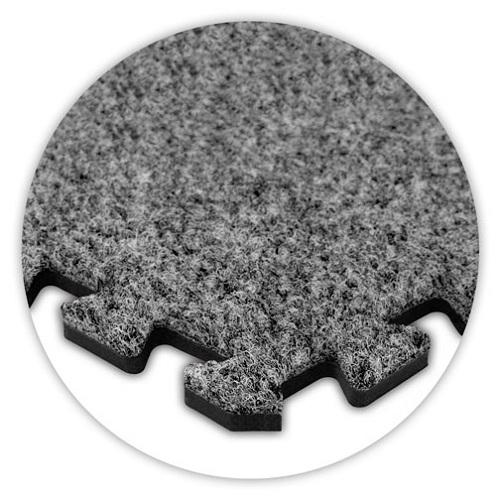 Premium Soft Carpet in Light Grey