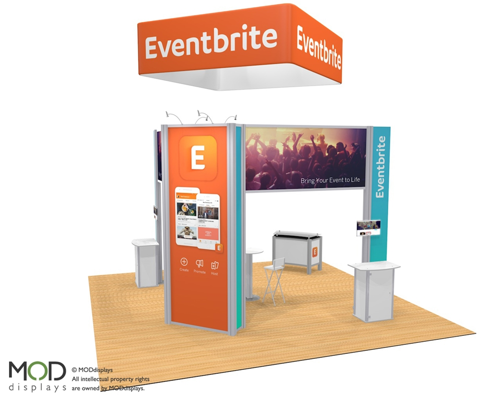 XVline 2020.08 Portable Trade Show Exhibit