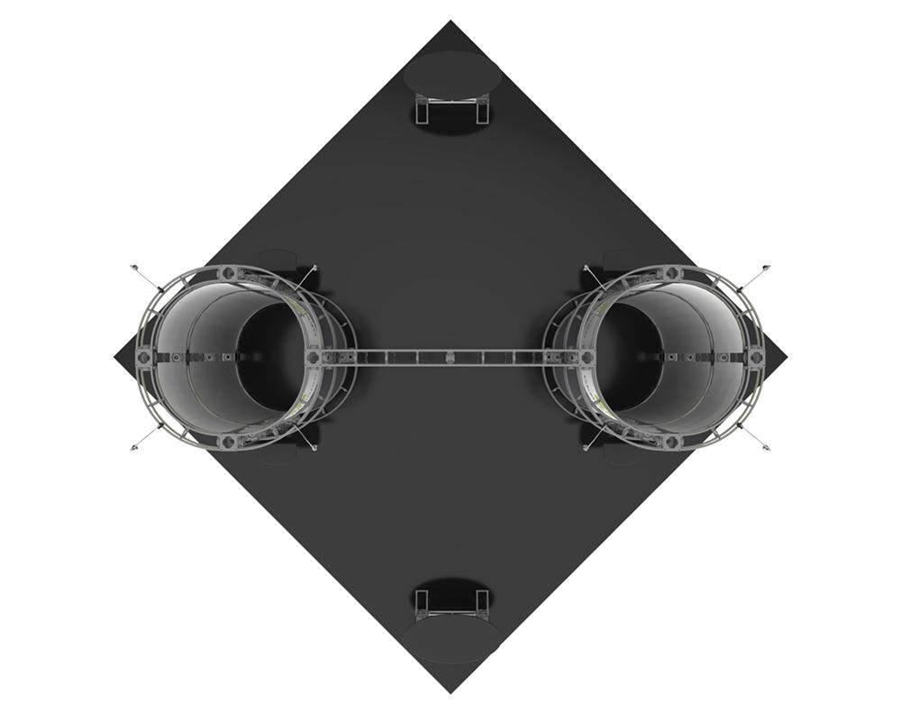 Gemini 20 x 20 Orbital Truss