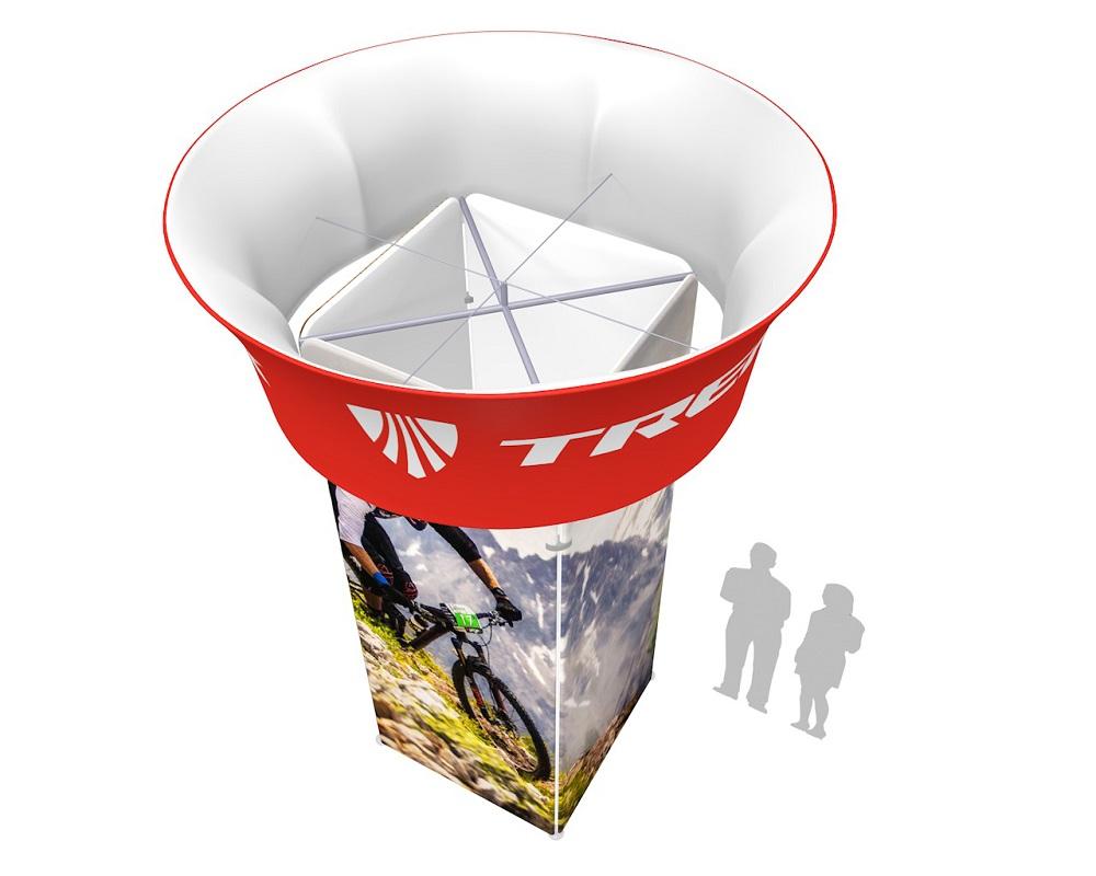 Blimp Tube Tapered Square Tower Kit