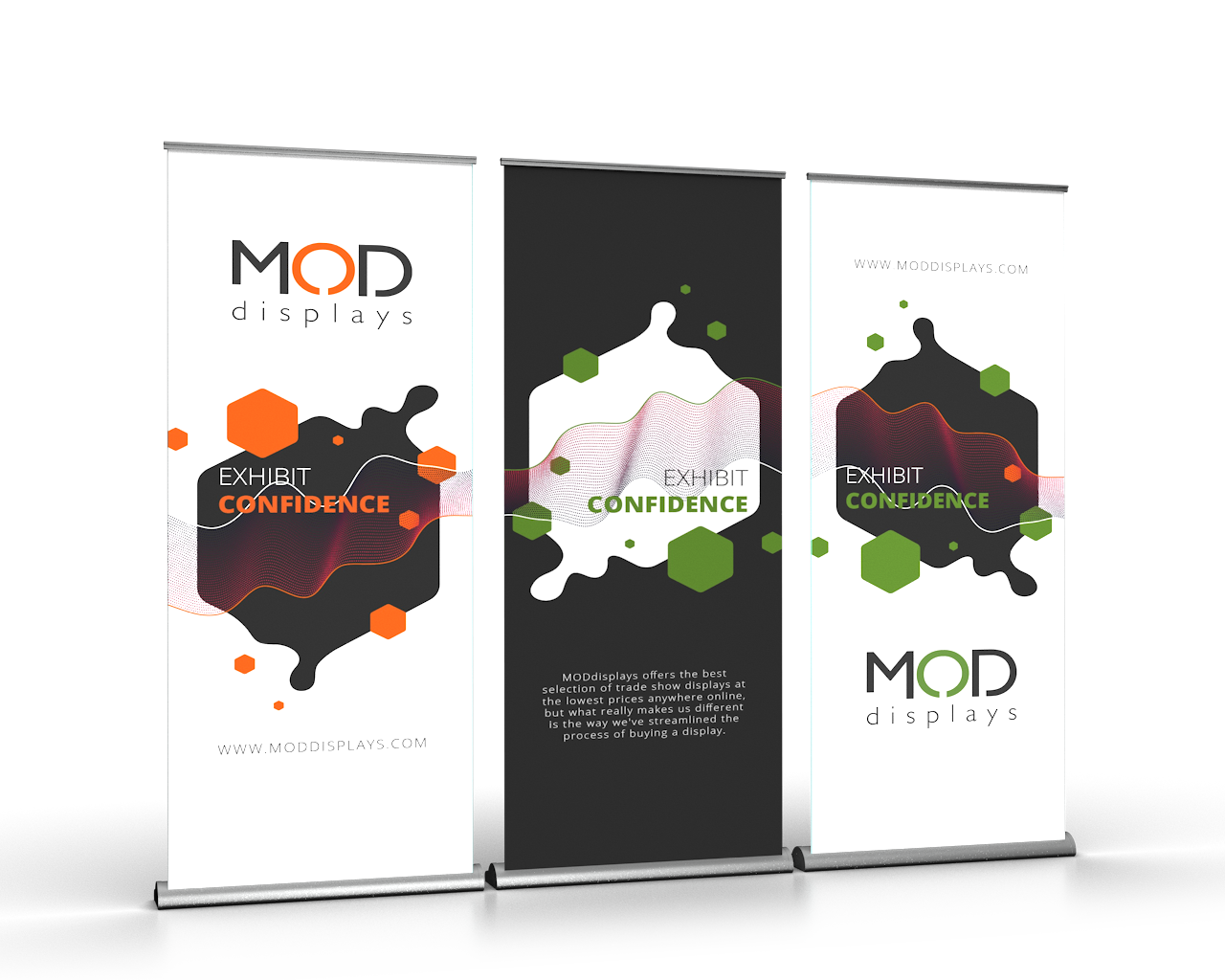 Banner Stand Wall is a versatile choice for trade show displays with a small budget