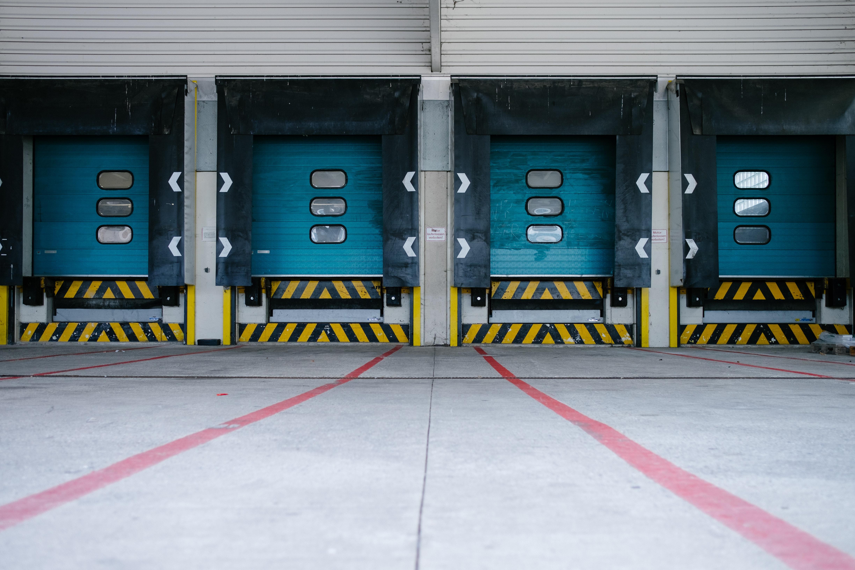 Warehouse loading dock image
