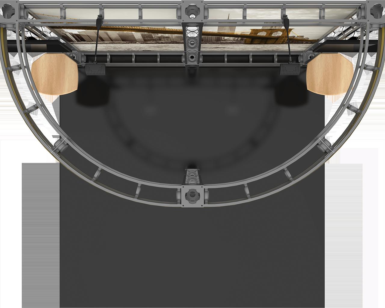 Clio 10 x 10 Orbital Truss