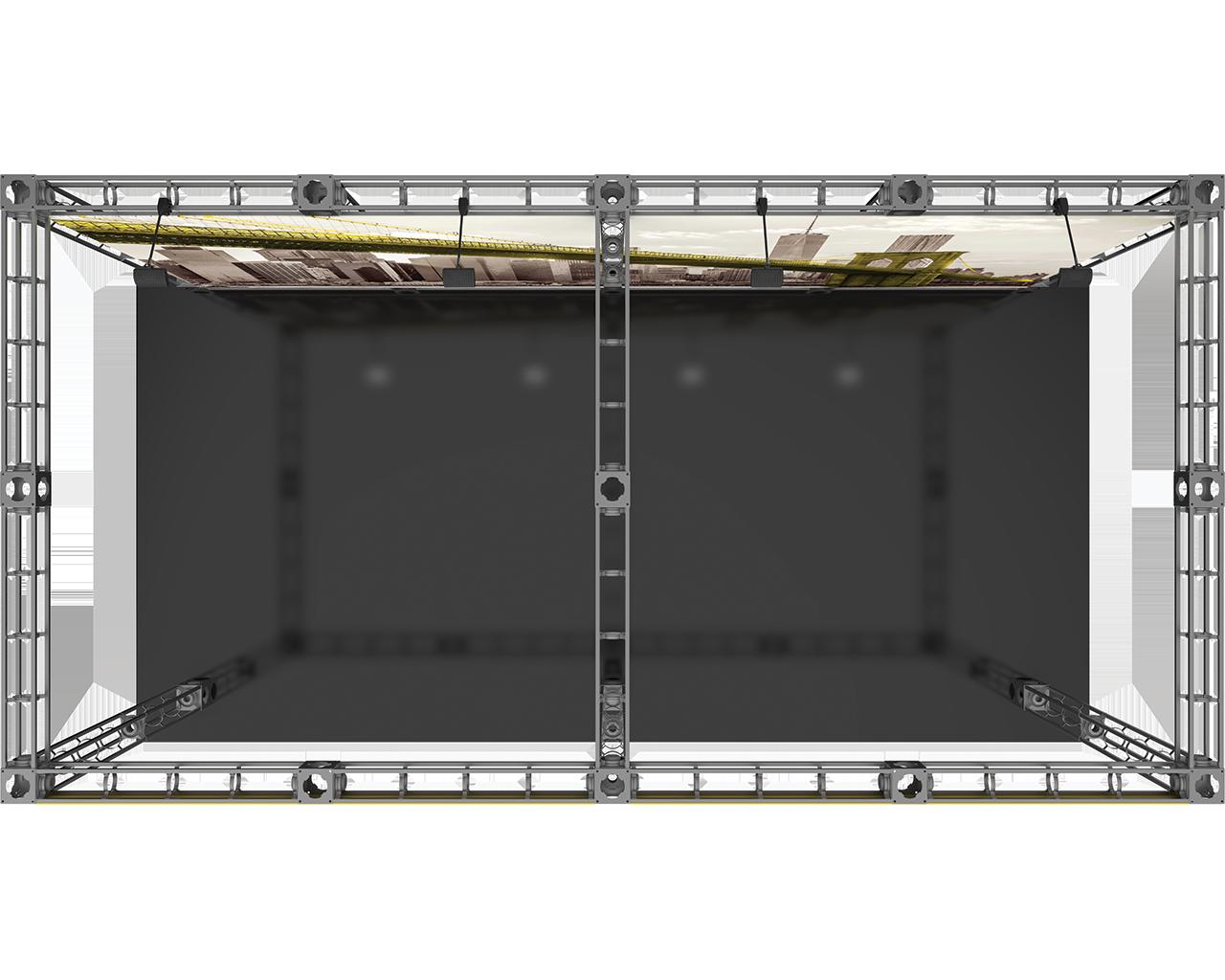 Luna-2 10 x 20 Orbital Truss Display