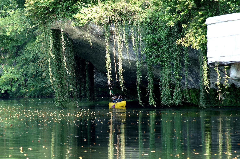 Ballade en canoe sur la Dordogne