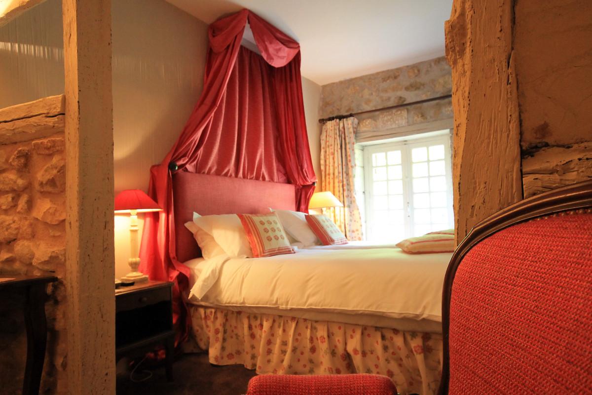 tête de lit drapé