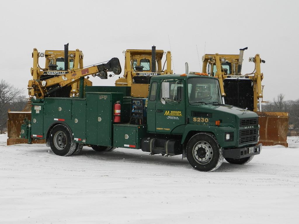 Mechanic Service Truck