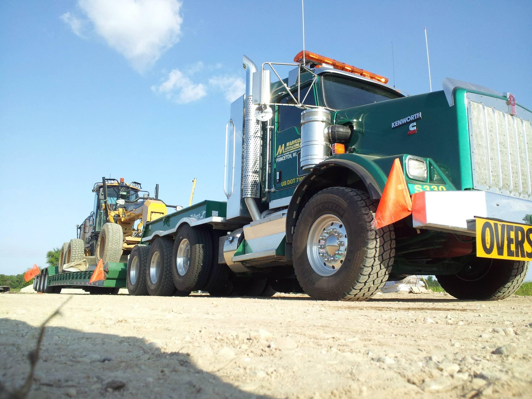 Kenworth Semi-Tractor