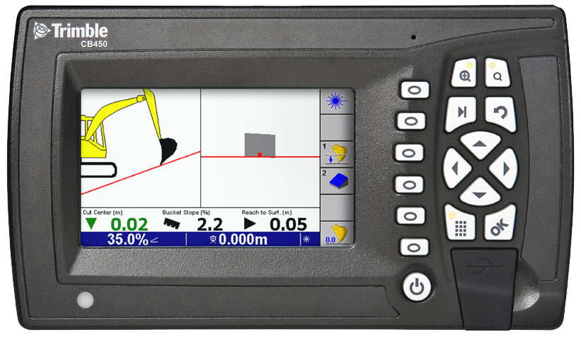 On-Board Trimble Operating System