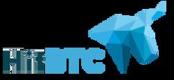 hitbtc.com logo grayscale
