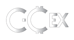 c-cex.com logo grayscale