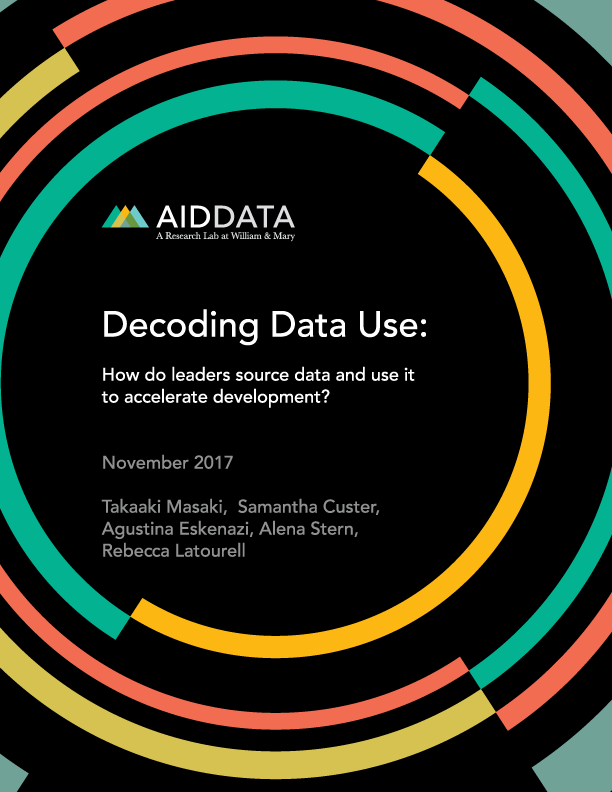 aiddata decoding data use how do leaders source data and use it