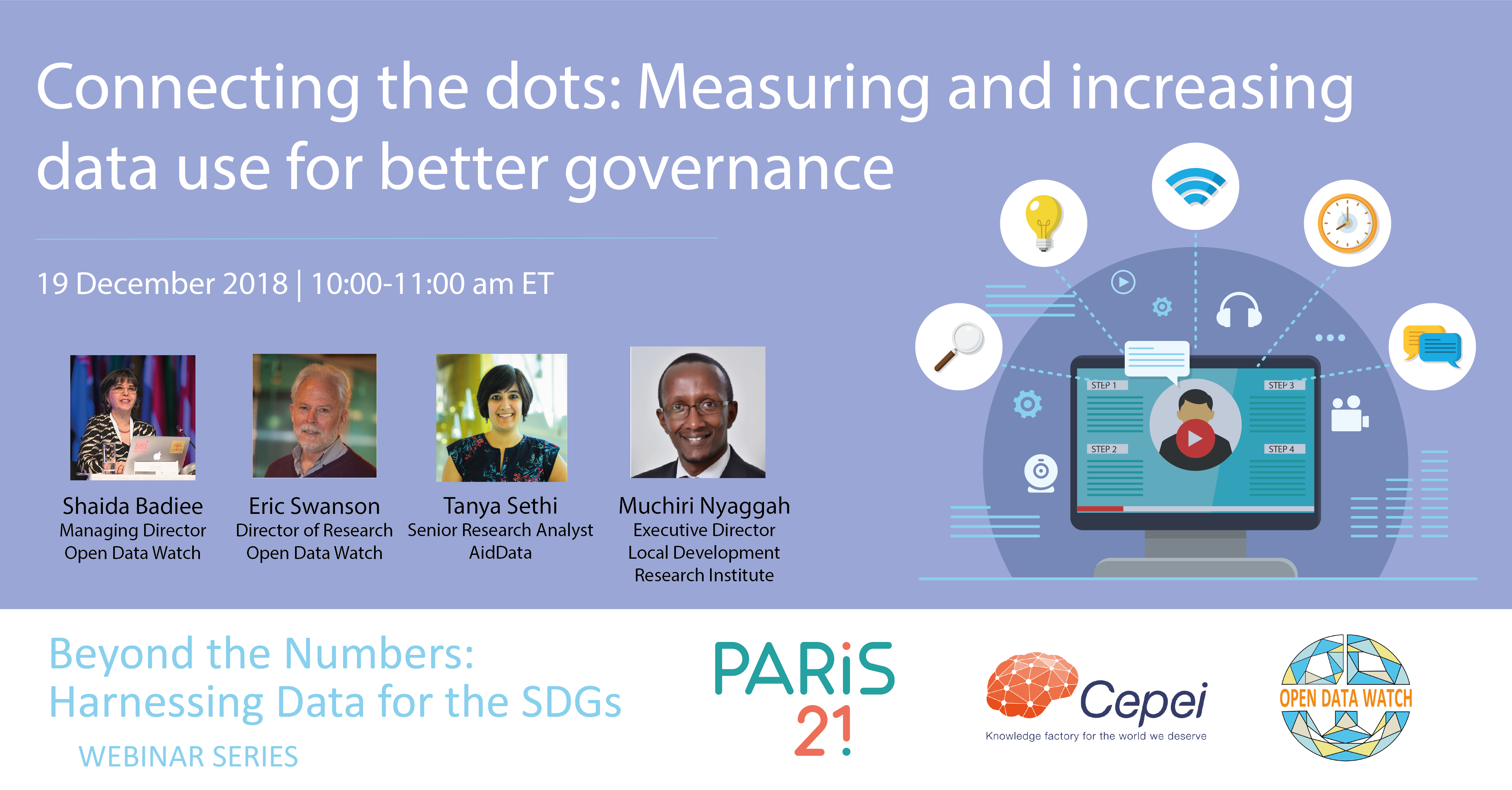 Connecting the dots:  Measuring and increasing data use for better governance