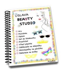 Beauty studio oslava, holčičí oslava