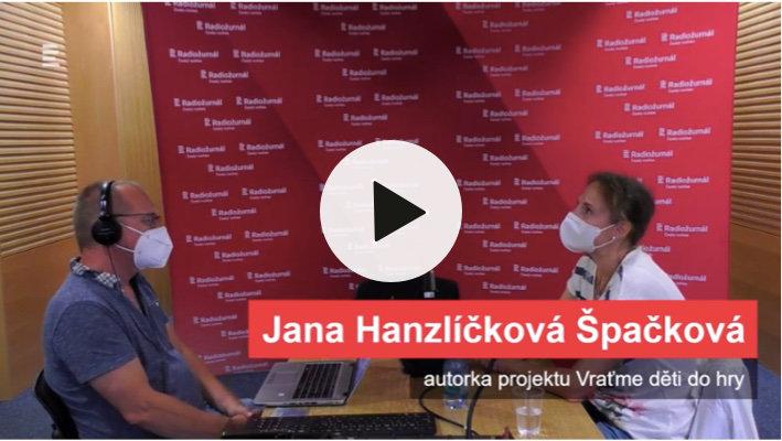 Jana Hanzlíčková Špačková hostem Radiožurnálu
