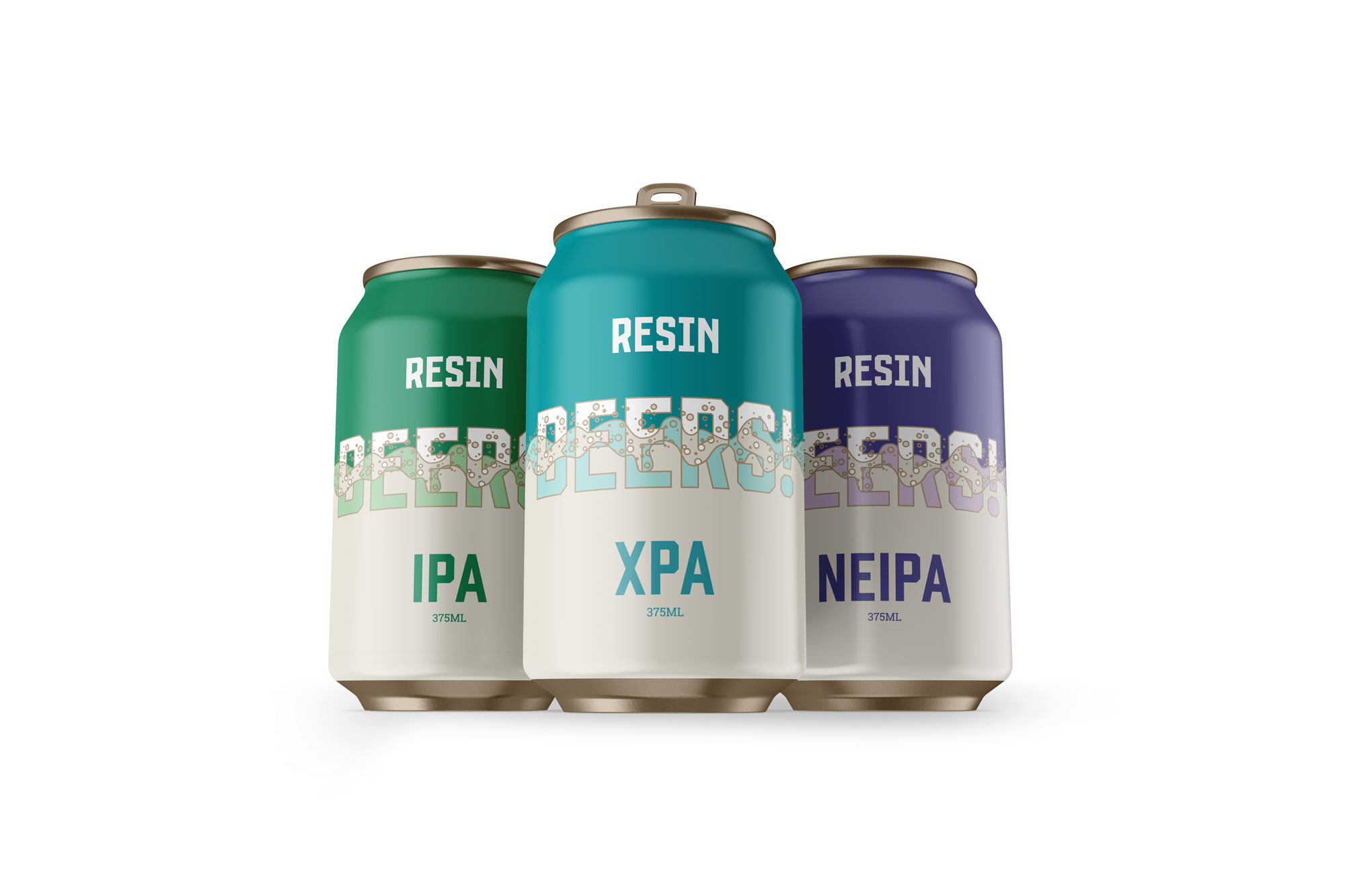 RESIN BREWING CANS
