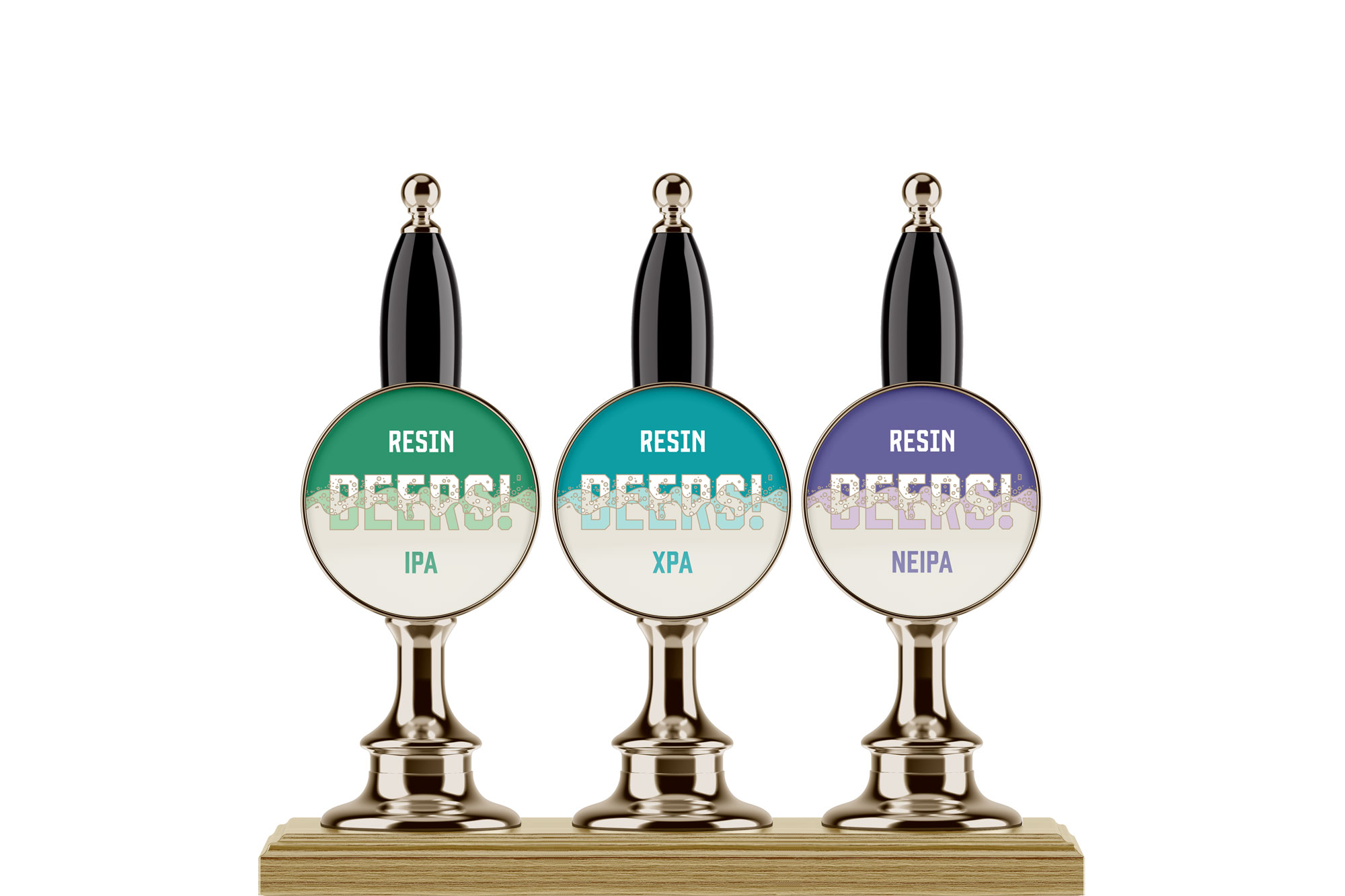 RESIN BREWING FONTS