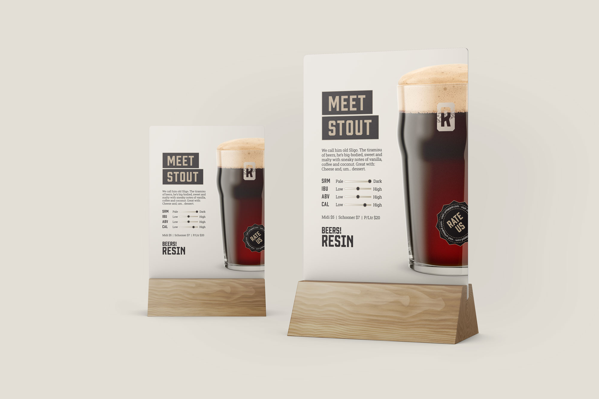 RESIN BREWING TABLE ADS
