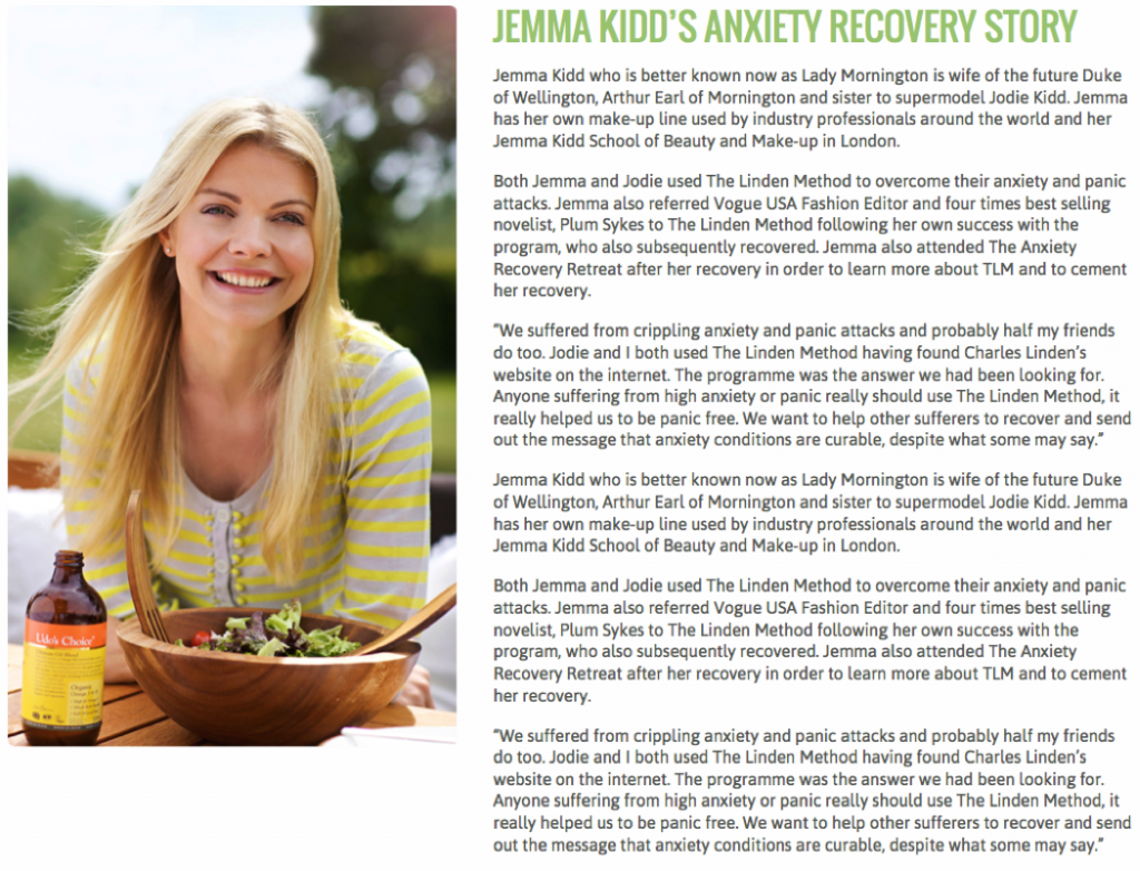 anxiety recovery retreat testimonials the linden method