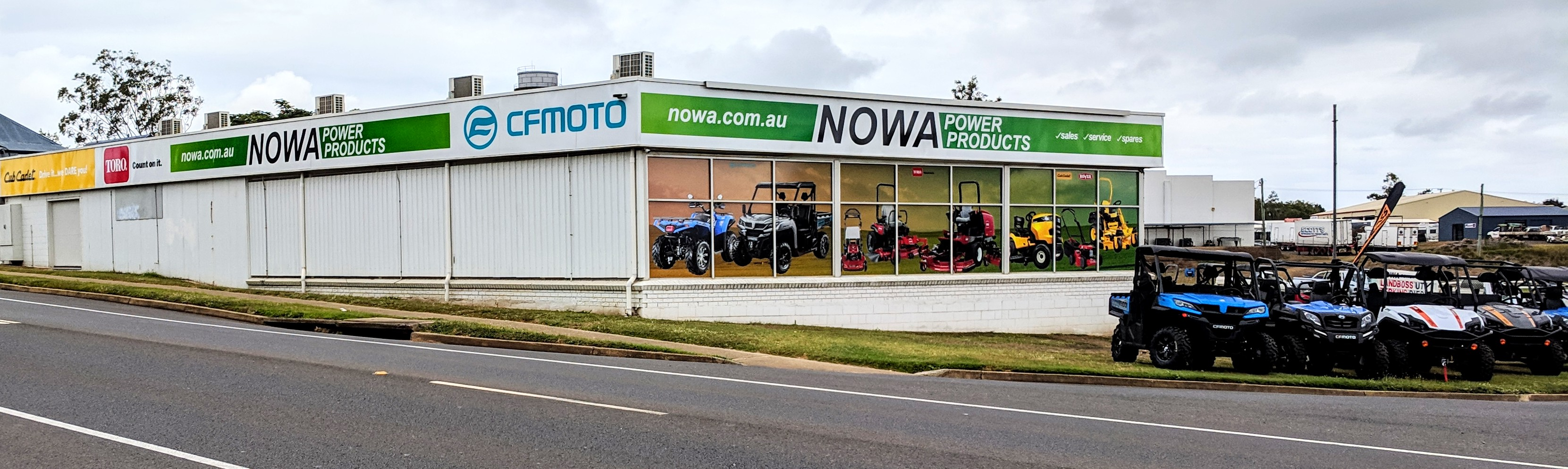 Nowa Power Products Showroom