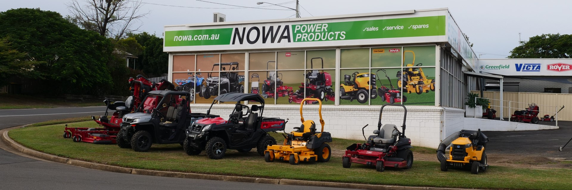 Nowa Power Products Outside