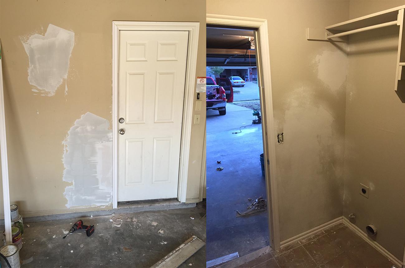 Garage Drywall Repair