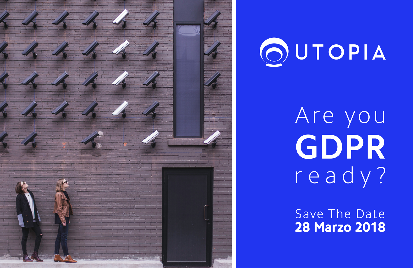 Are you GDPR ready? |  workshop gratuito 28 marzo 2018