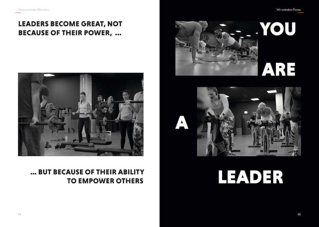 FitX Leadership Book Page