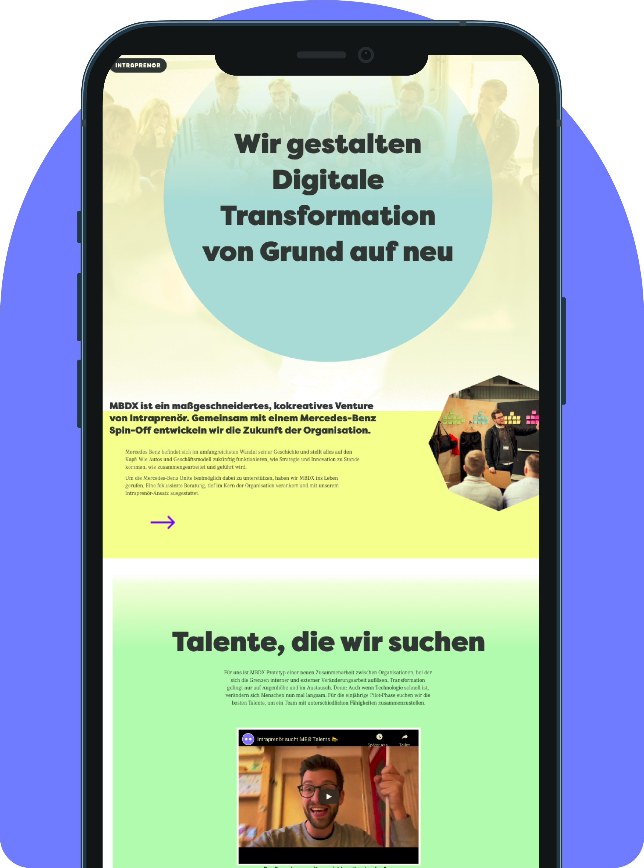 MBDX Job Page