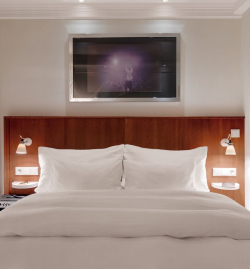 Hotel Room, running Hetras Cloud Based Hotel Management Software