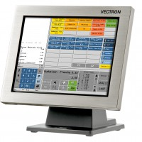 Vectron POS SteelTouch - running Hetras Cloud Based Hotel Management Software