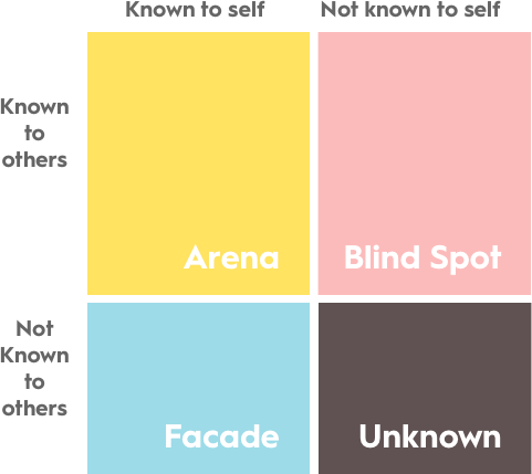 Johari's Window Feedback Model