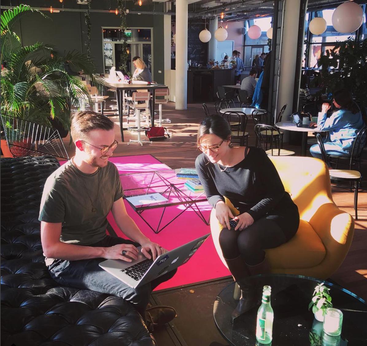 WeQ HQ picture in Amsterdam