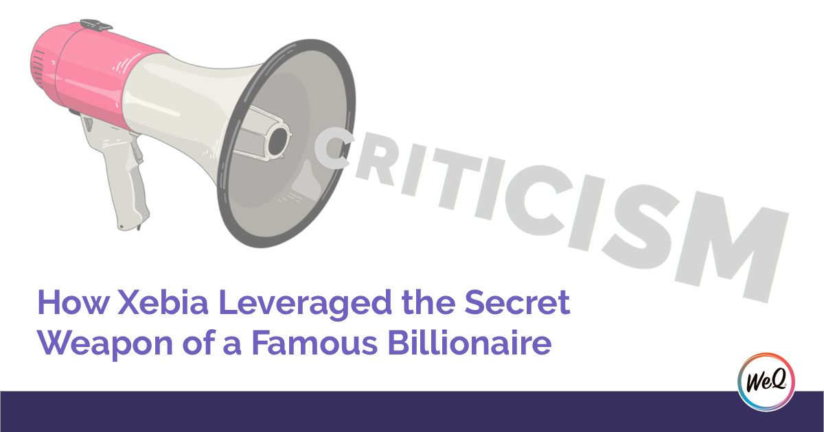 How Xebia Leveraged the Secret Weapon of a Famous Billionaire