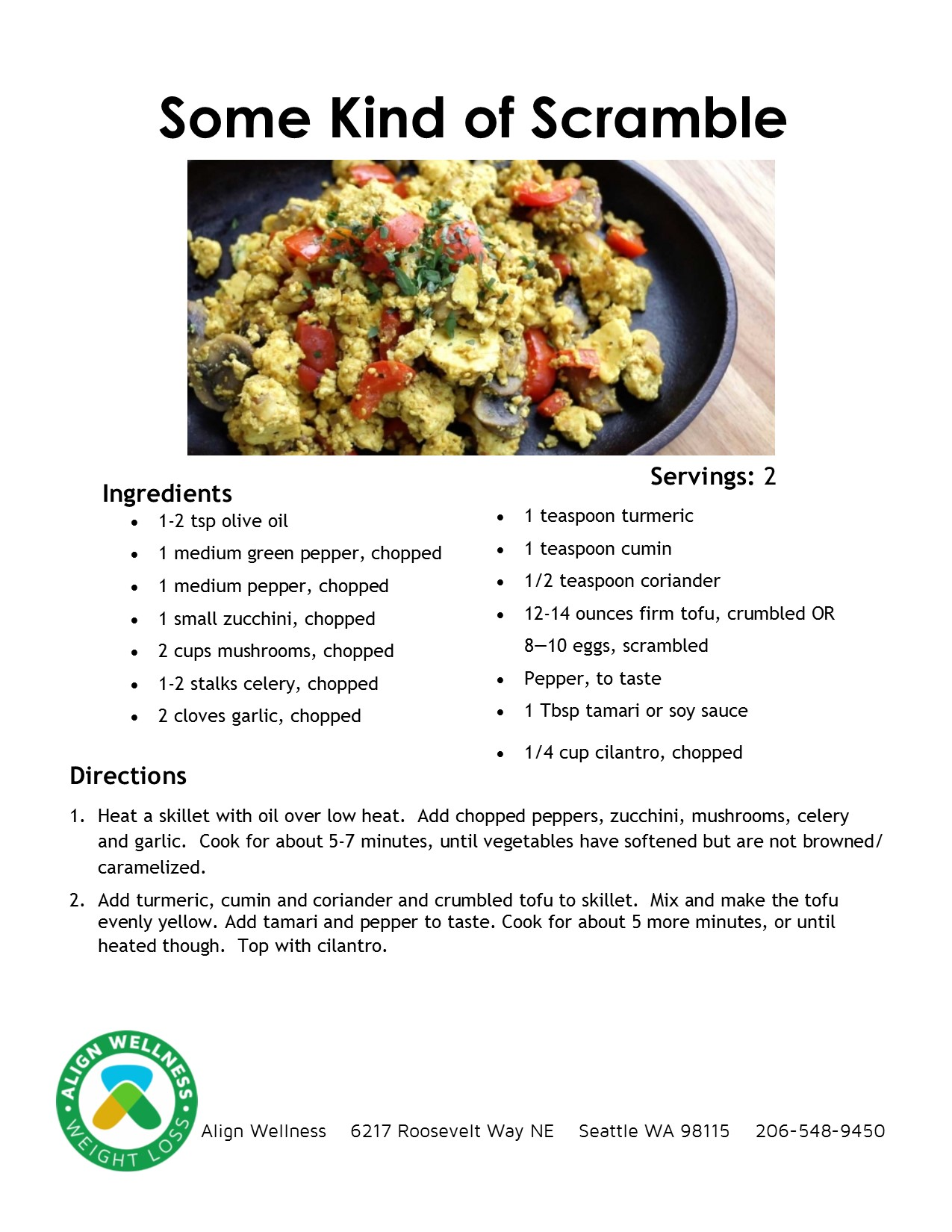 Some Kind of Scramble Ideal Protein Recipe
