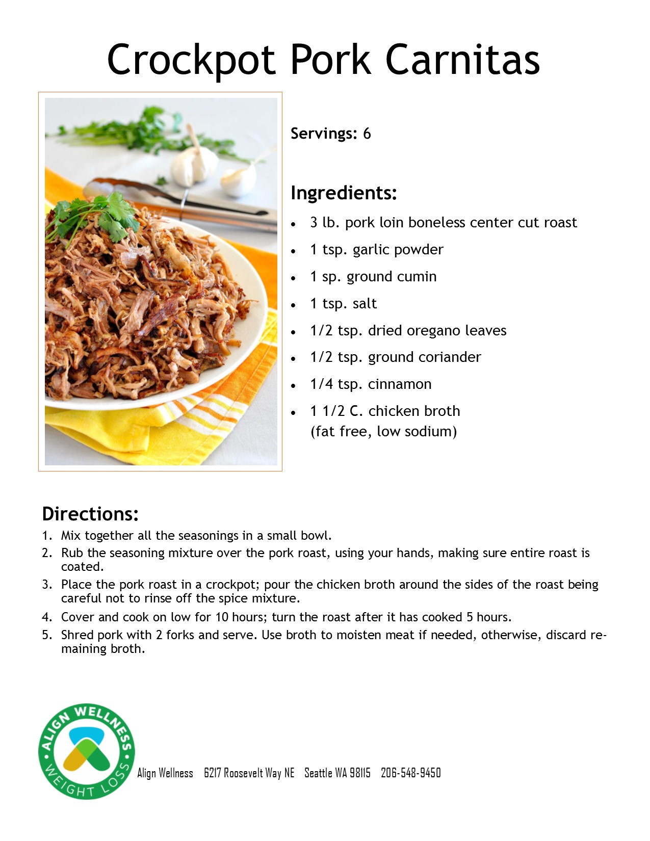 Crockpot Pork Carnitas Ideal Protein Recipe