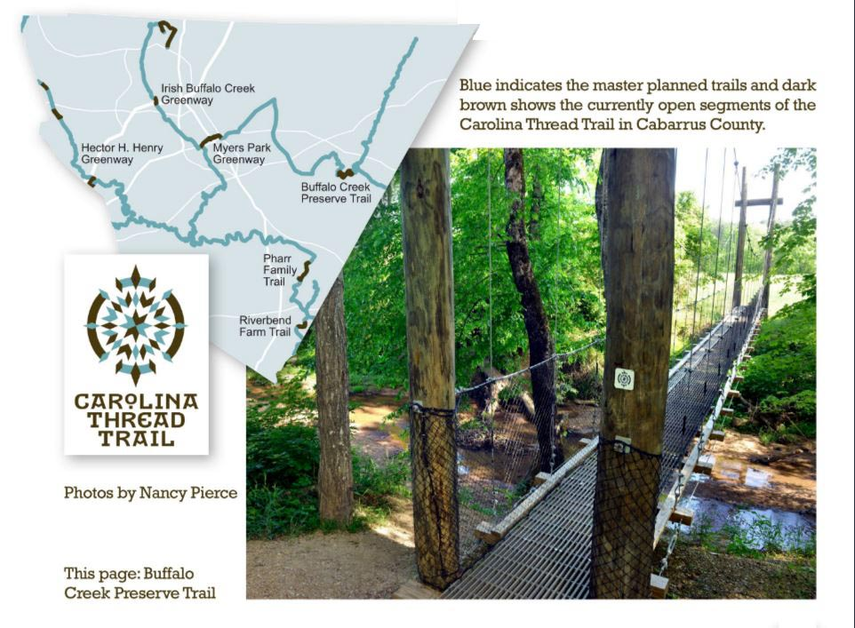 The Carolina Thread Trail In Cabarrus County