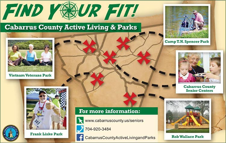 Cabarrus County Active Living and Parks