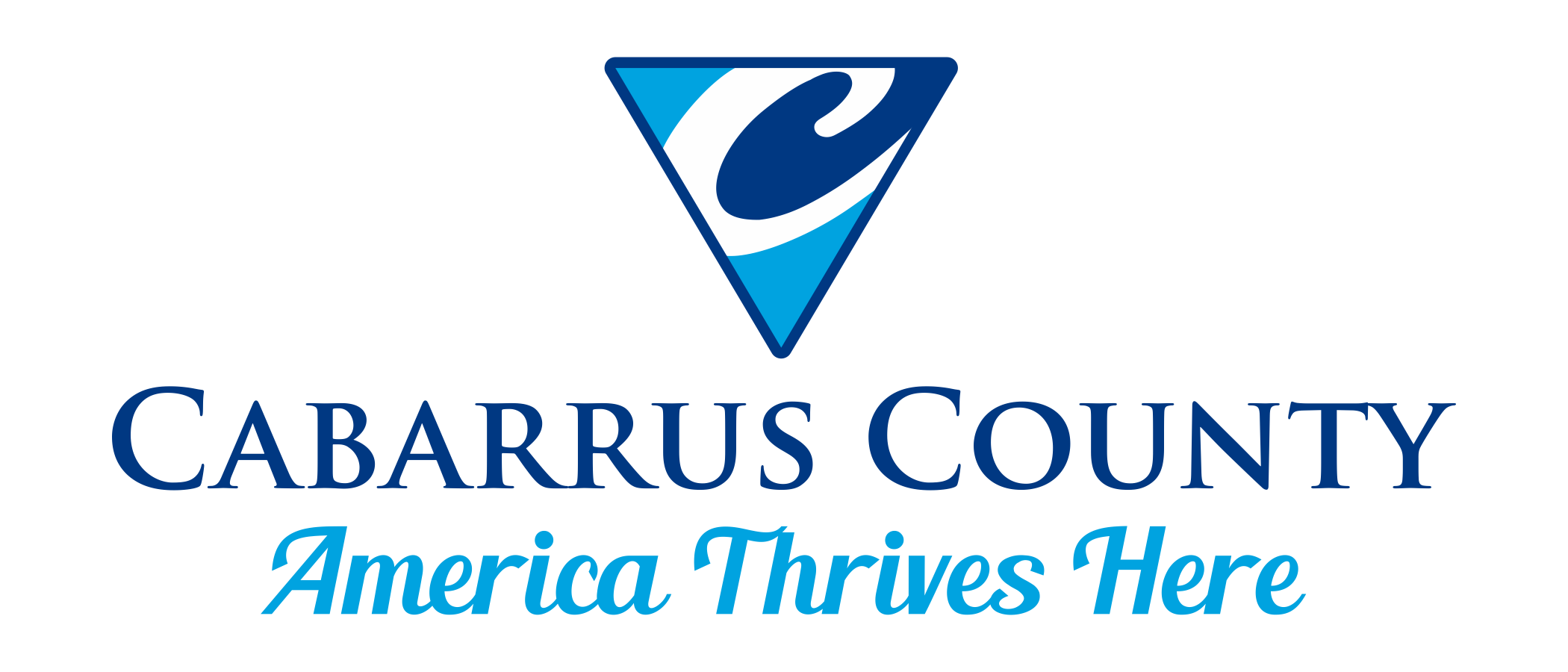 Cabarrus County logo and tagline are protected by copyright and may not be used without permission.