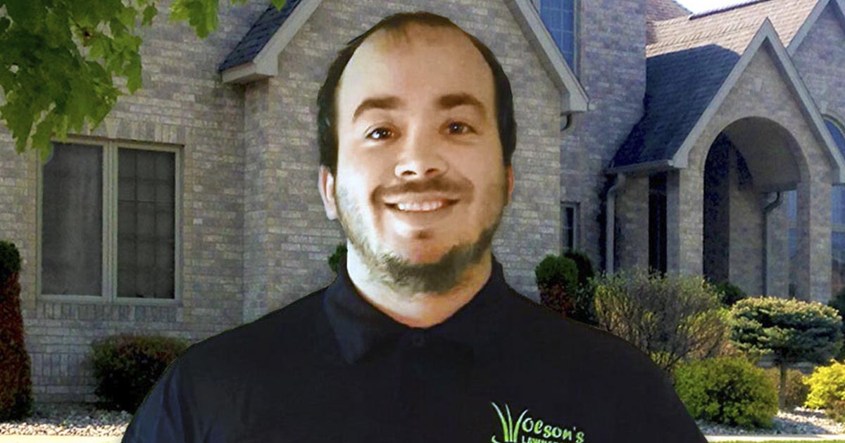 Jonas Olson - Owner of Olson's Lawnscape