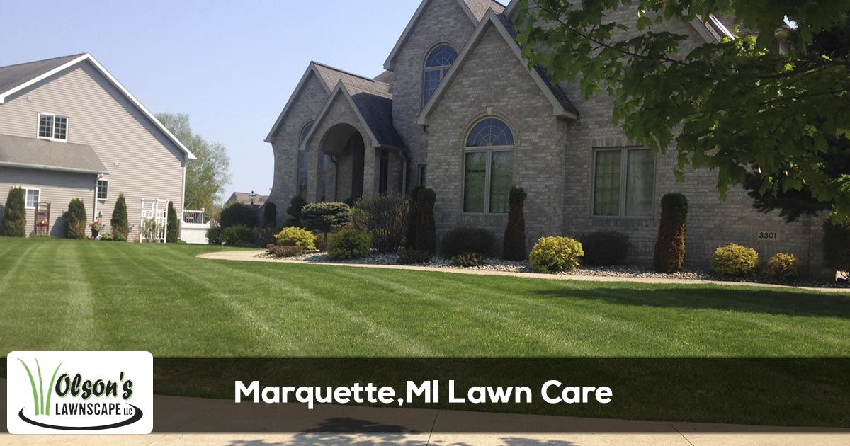 Lawn Care in Marquette, MI